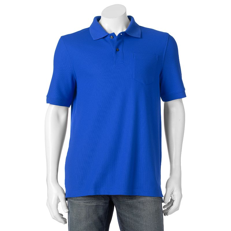 Big & Tall Croft & Barrow® Classic-Fit Pique Performance Polo