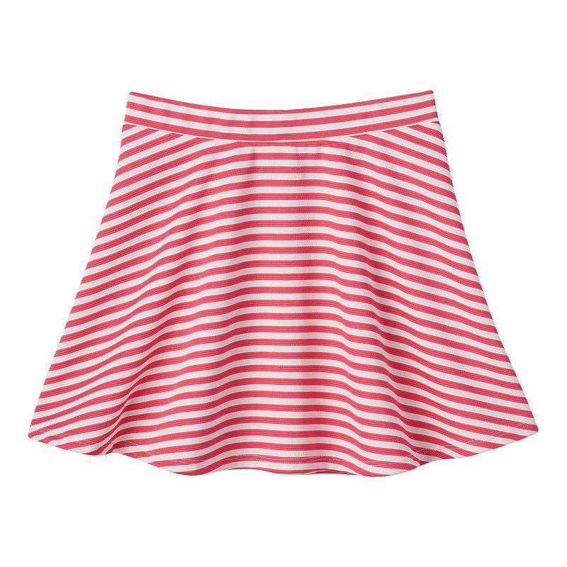 Joey B Girls 7-16 Striped Skater Skirt