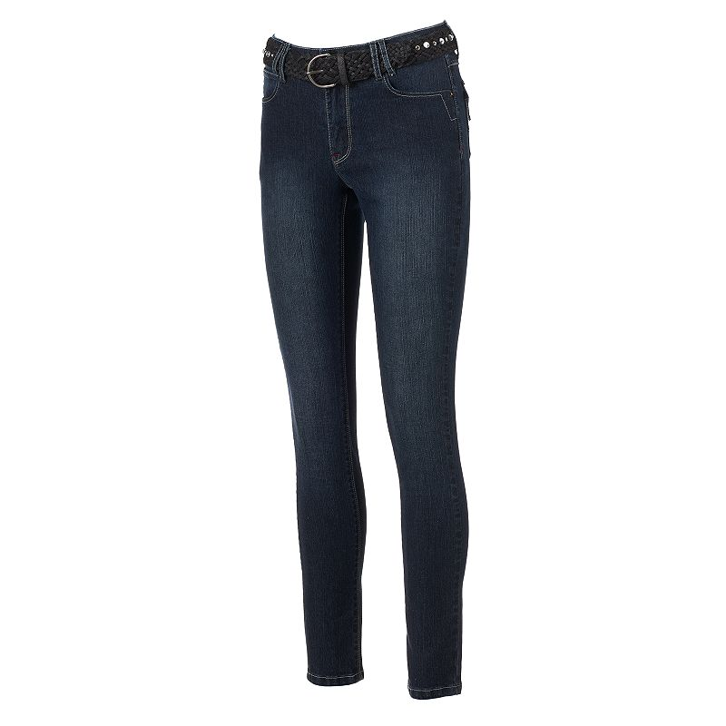 Angels Faded Skinny Jeans - Women's
