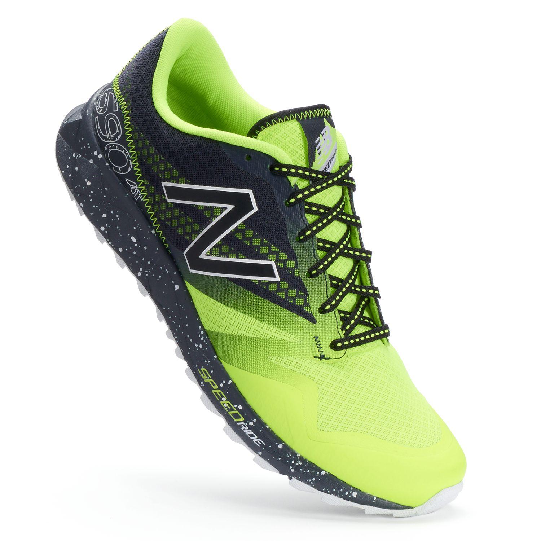 new balance men's mt411 trail running shoes black/grey