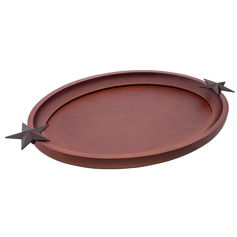Thirstystone Star 17-in. Oval Serving Tray