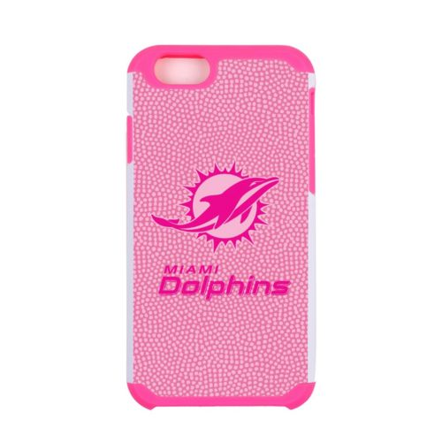 GameWear Miami Dolphins Pink Wordmark iPhone 6 Cell Phone Case