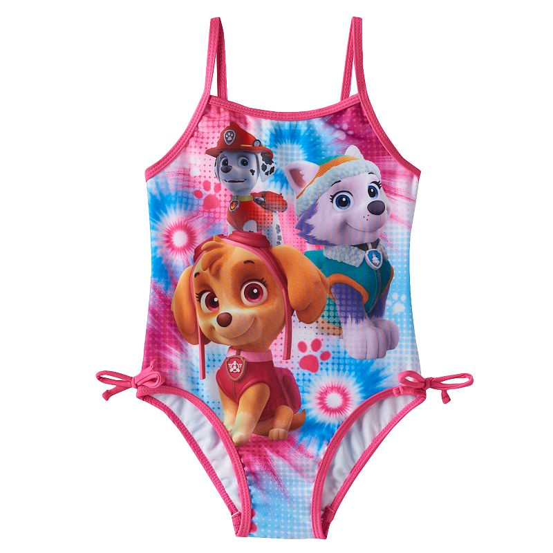 Toddler Girl Paw Patrol One-Piece Swimsuit
