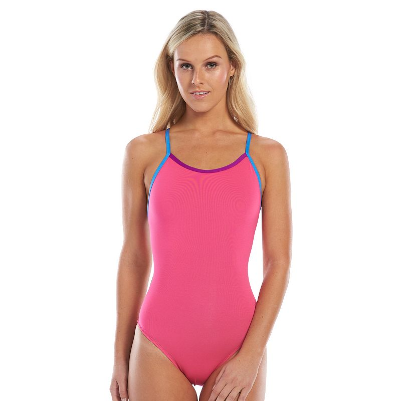 Women's Dolfin Bellas Solid Maximum Performance One-Piece Swimsuit