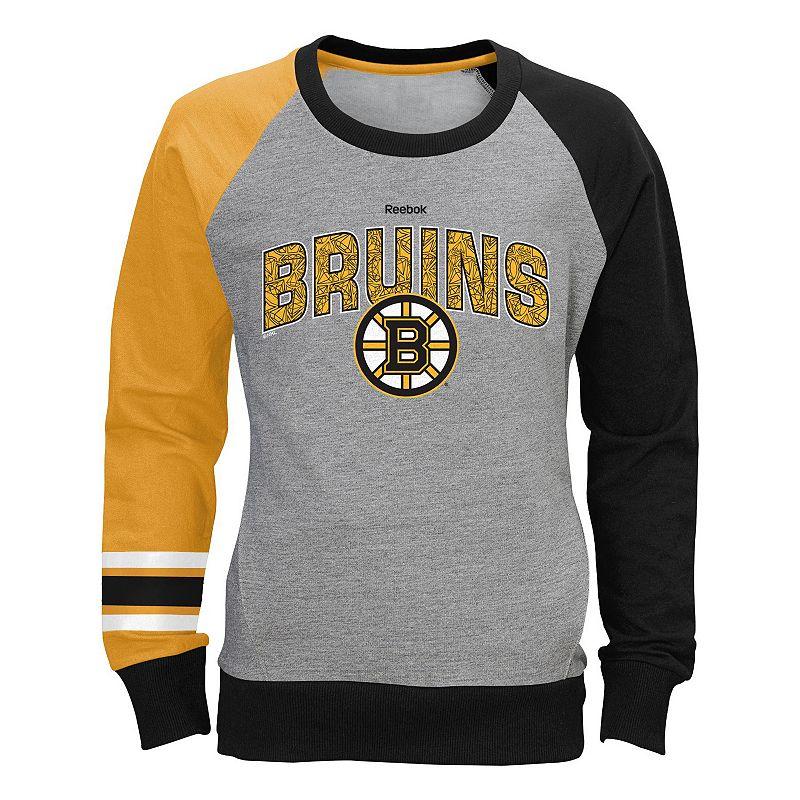Girls 7-16 Reebok Boston Bruins Amethyst Sweatshirt