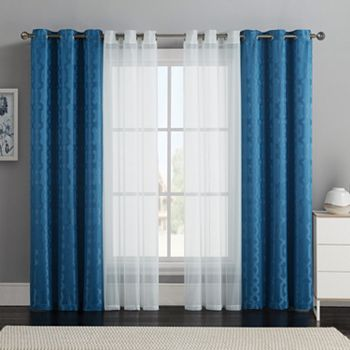 VCNY 4-pack Barcelona Curtain Set