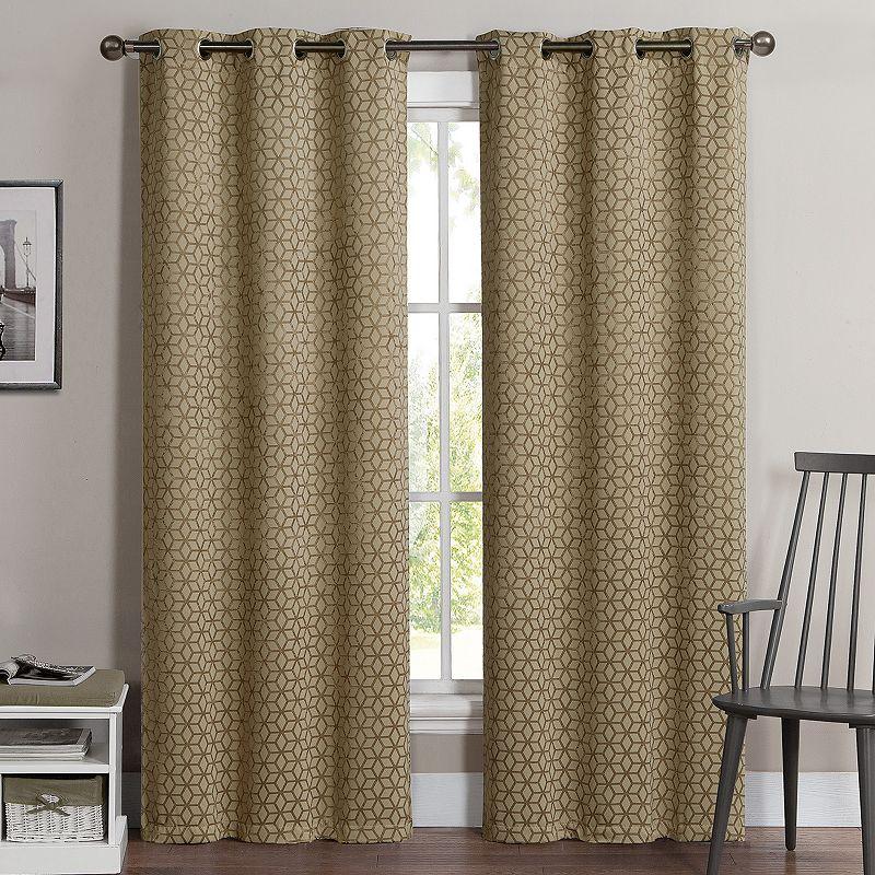 Gray Blackout Curtain