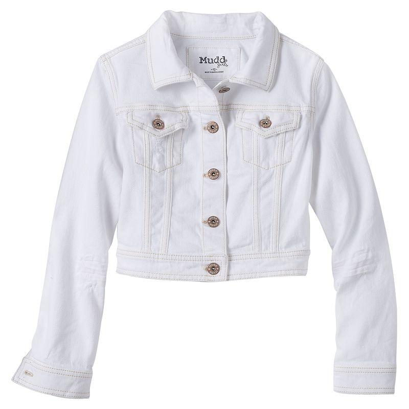 Girls 7-16 & Plus Size Mudd® Cropped Jean Jacket