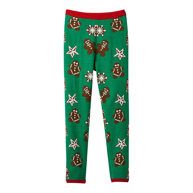 Girls 7-16 It's Our Time Christmas Leggings