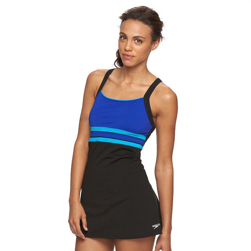Women's Speedo Colorblock Swimdress