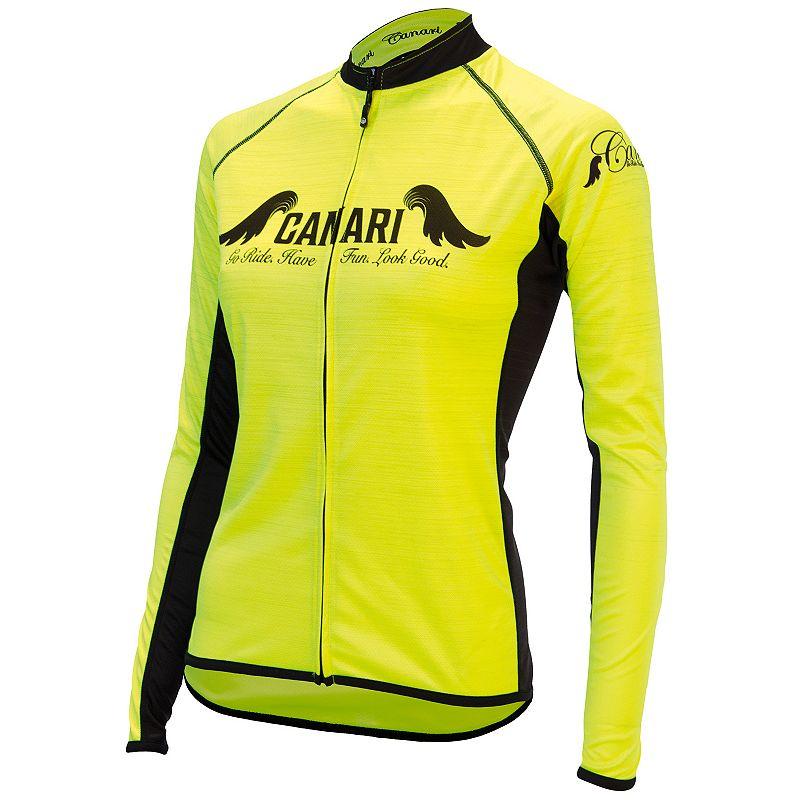 Women's Canari Arya Full-Zip Raglan Cycling Jersey