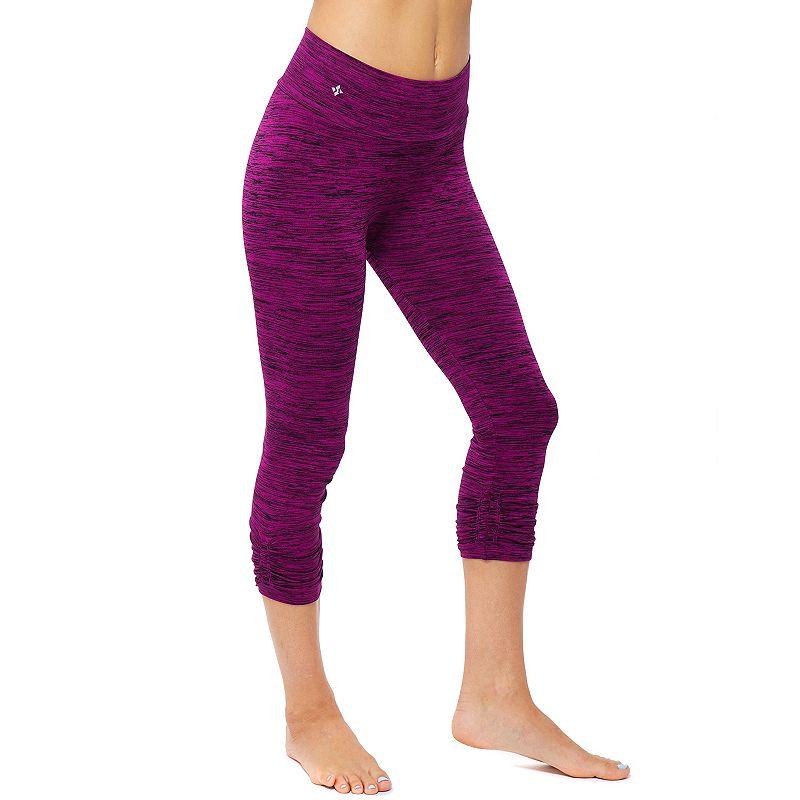 NUX Verigated Capri Workout Leggings - Women's
