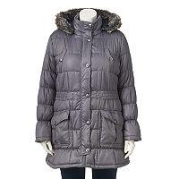 Juniors' Plus Size Urban Republic Puffer Jacket