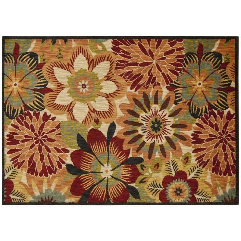 4x6 5x7 floral rug kohl 39 s. Black Bedroom Furniture Sets. Home Design Ideas