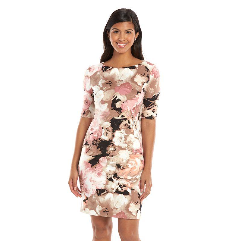 Women's Suite 7 Floral Print Sheath Dress