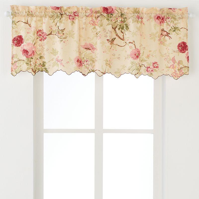 Ellis Curtains Balmoral Valance - 48'' x 15''