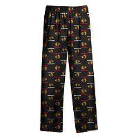 Boys 8-20 Chicago Blackhawks Allover Logo Lounge Pants