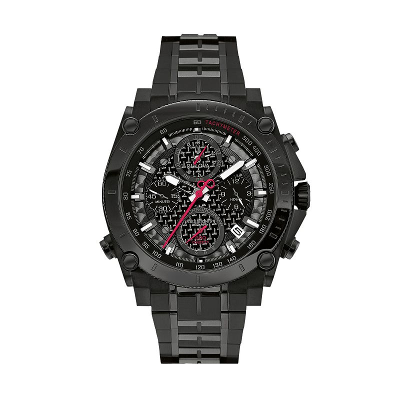 Bulova Men's Precisionist Ultra High Frequency Stainless Steel Chronograph Watch - 98B257