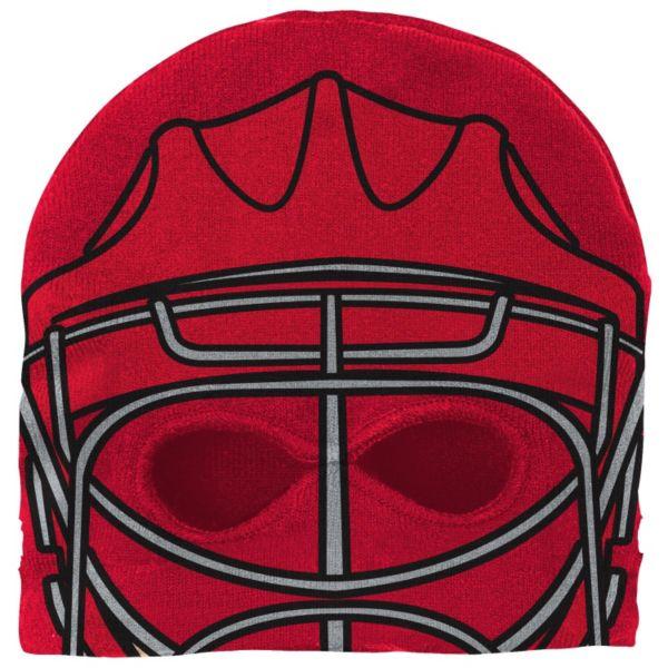 Youth Reebok Detroit Red Wings Mask Knit Cap