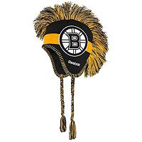 Youth Reebok Boston Bruins Mohawk Knit Cap