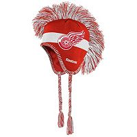 Youth Reebok Detroit Red Wings Mohawk Knit Cap