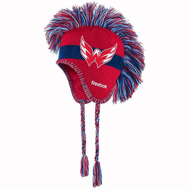 Youth Reebok Washington Capitals Mohawk Knit Cap