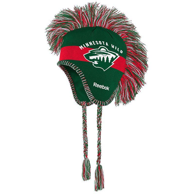 Youth Reebok Minnesota Wild Mohawk Knit Cap