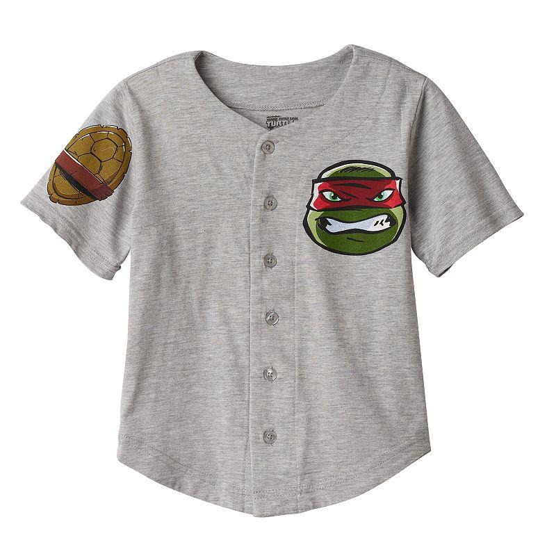 Boys 4-7 Teenage Mutant Ninja Turtles Raphael Baseball Jersey Tee