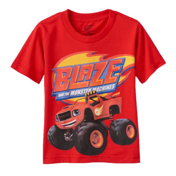 Blaze & The Monster Machines Toddler Boy Tee
