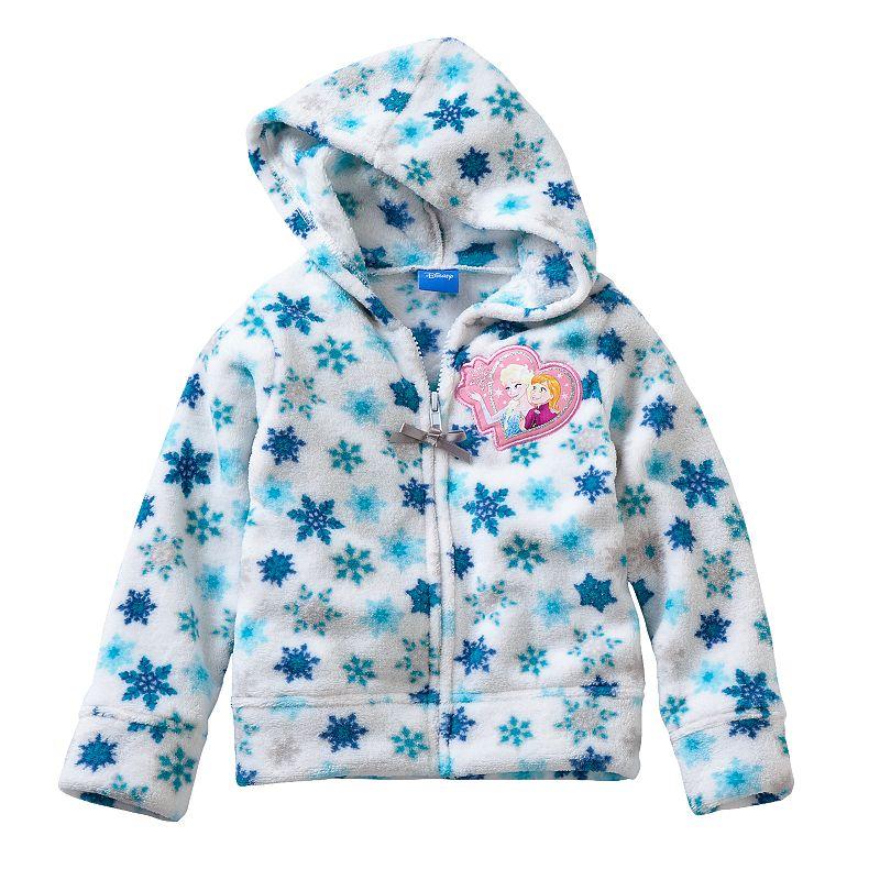 Disney's Frozen Anna & Elsa Toddler Girl Fleece Hoodie