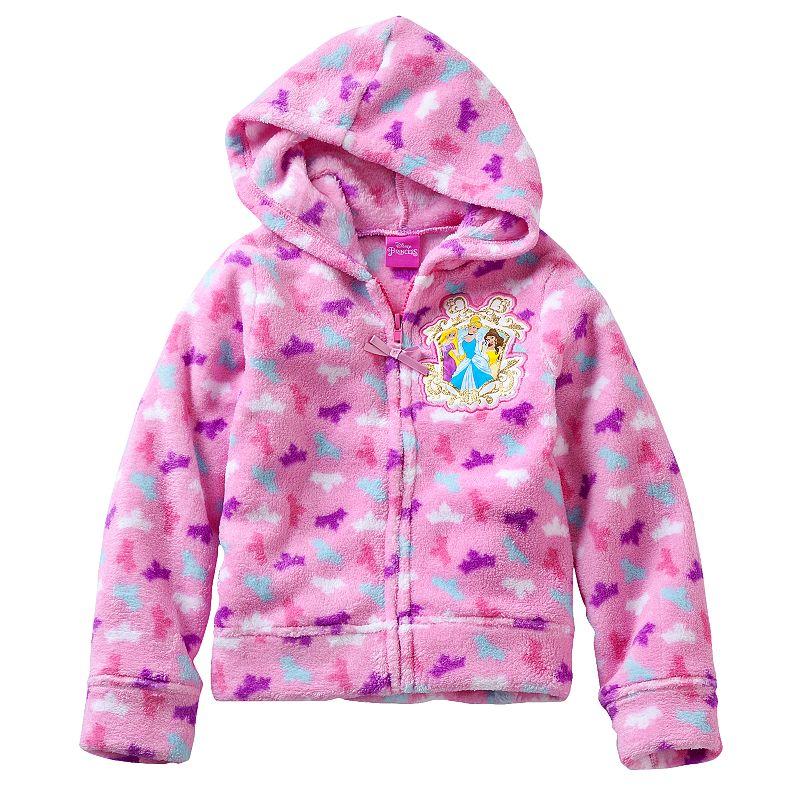 Disney Princess Toddler Girl Fleece Hoodie