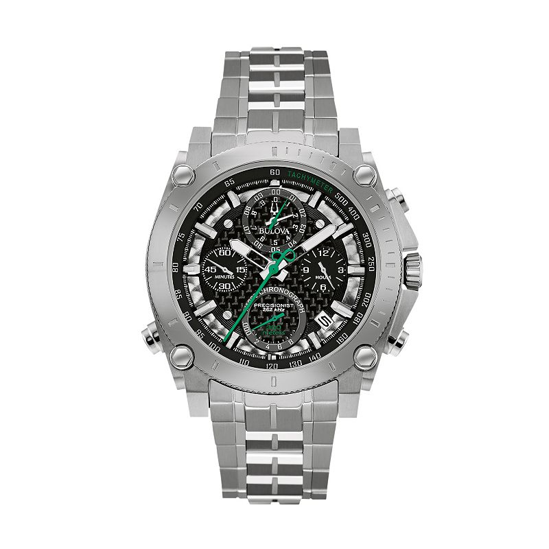 Bulova Men's Precisionist Ultra High Frequency Stainless Steel Chronograph Watch - 96B241