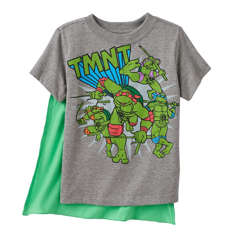 Teenage Mutant Ninja Turtle Toddler Boy Cape Tee