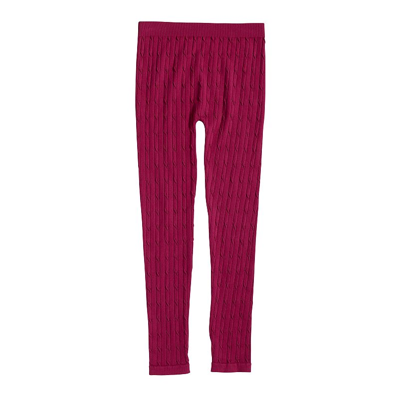 Girls 4-6x French Toast Girls Cable Knit Leggings