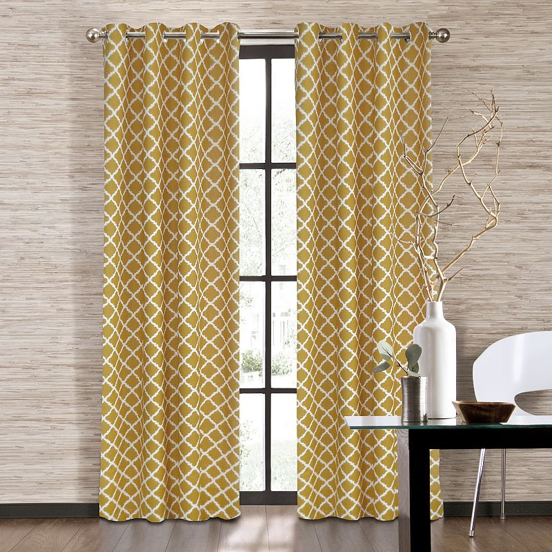 Colordrift Misha Window Panel