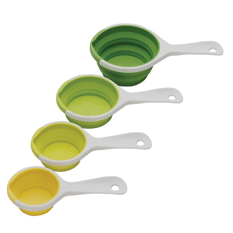 Chef'n SleekStor Pinch Pour 4-pc. Collapsible Measuring Cup Set