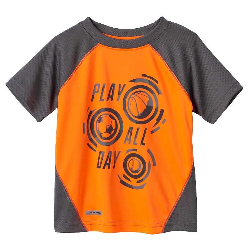 Baby Boy Jumping Beans® Play Cool Graphic Mesh Performance Tee