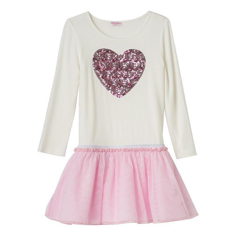 Design 365 Toddler Girl Drop-Waist Tutu Dress