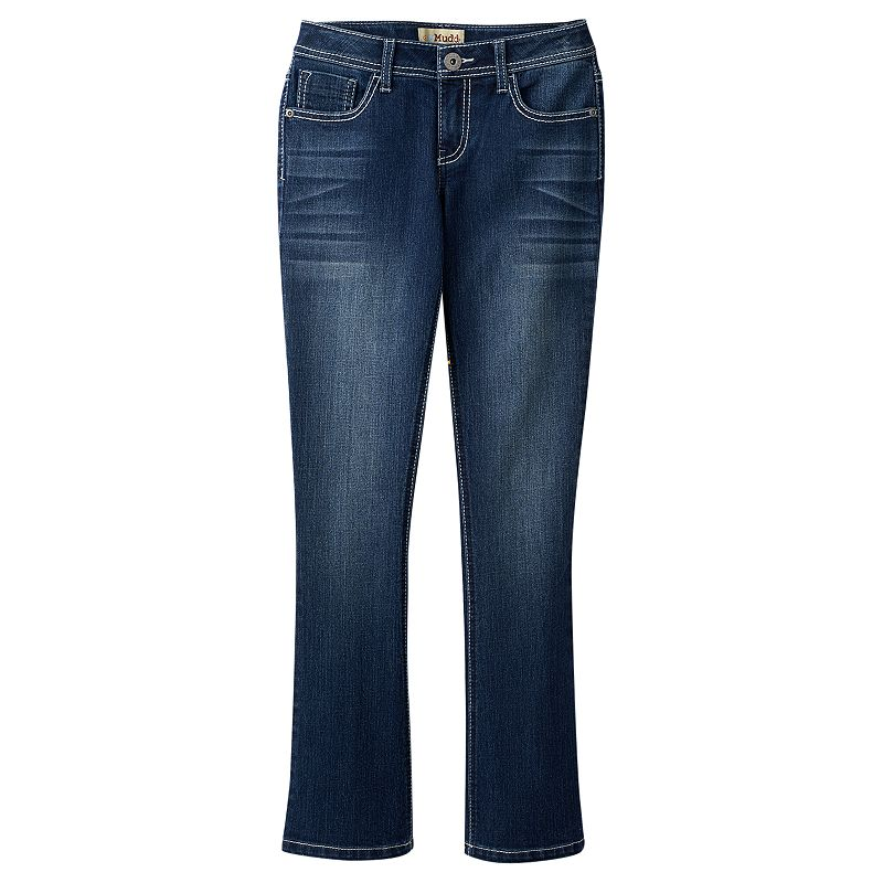 Girls' Plus Size Mudd® Basic Bootcut Jeans