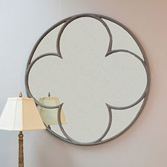 Carolina Forge Hudson Round Wall Mirror by