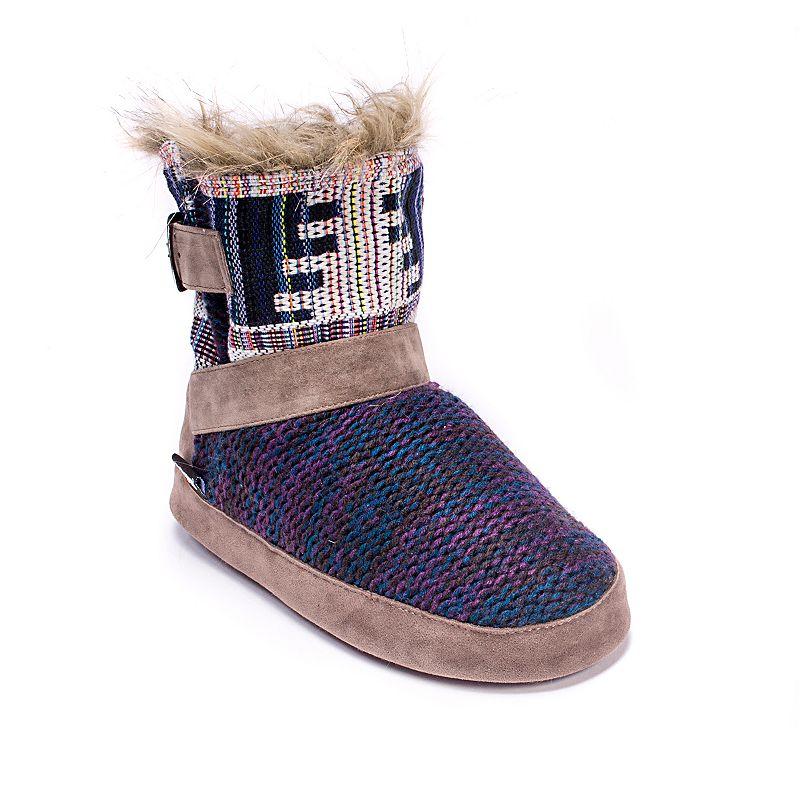 MUK LUKS Women's Becca Bootie Slippers