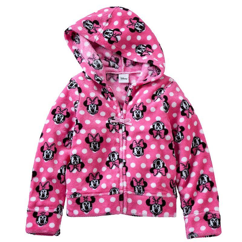 Disney's Minnie Mouse Girls 4-6x Fleece Hoodie