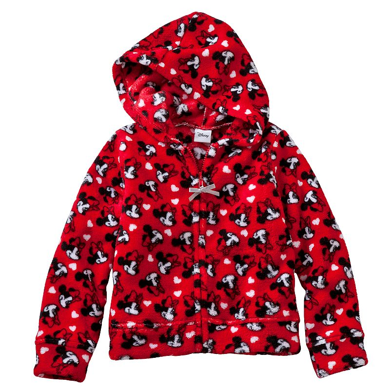 Disney's Minnie Mouse Toddler Girl Fleece Hoodie