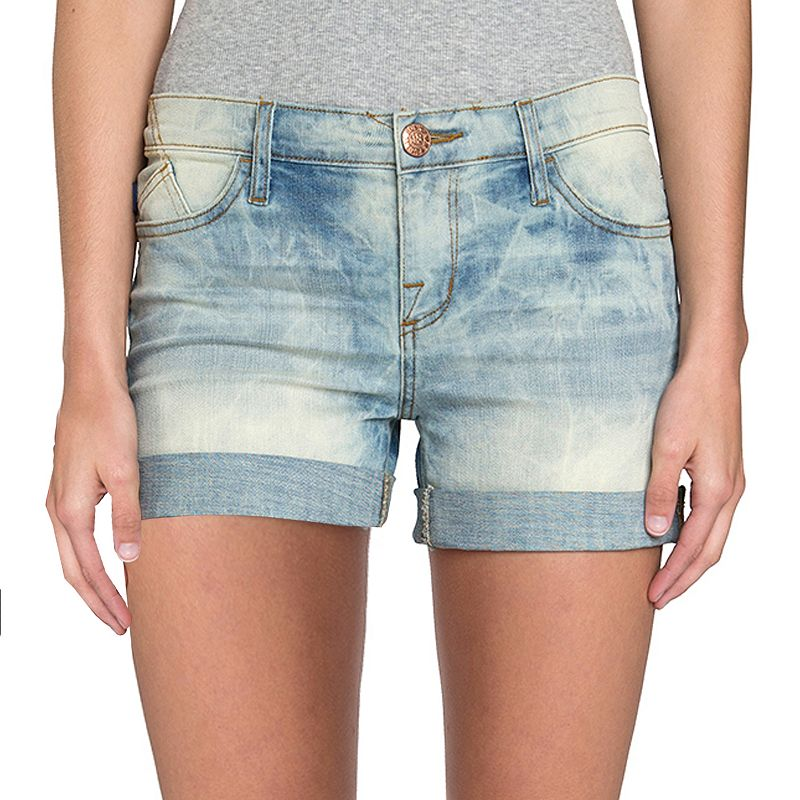 Women's Rock & Republic® Acid-Wash Jean Shorts