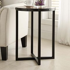 Click here to buy Carolina Forge Roper Accent Table .