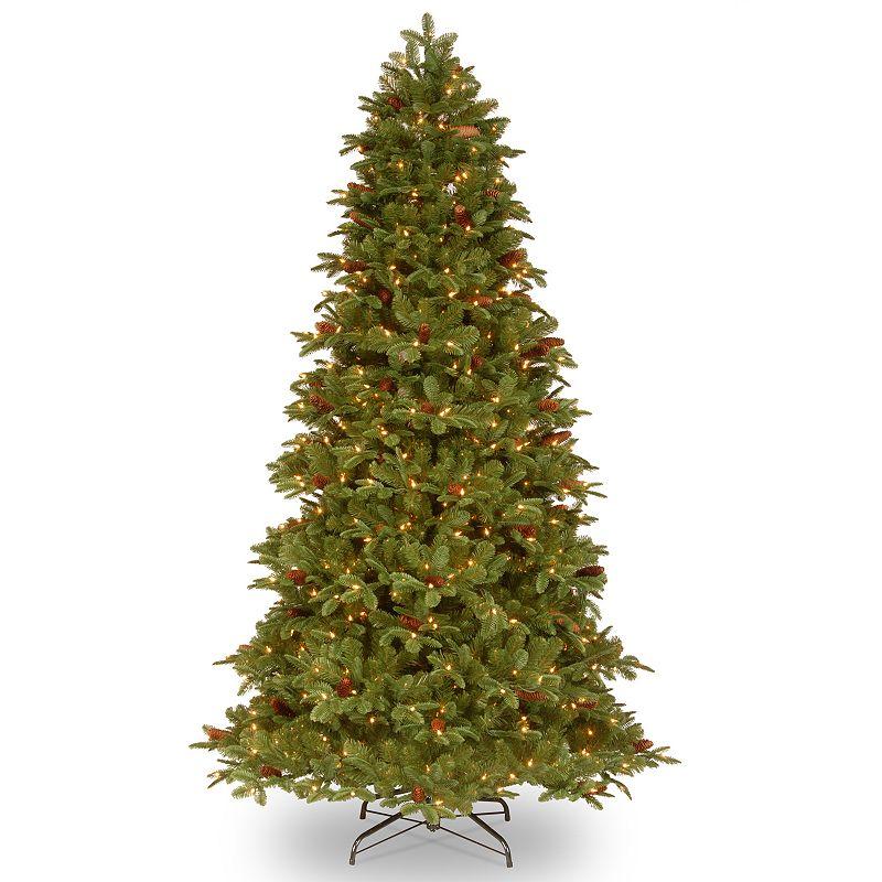 7.5-ft. Pre-Lit ''Feel-Real'' Oakridge Artificial Christmas Tree