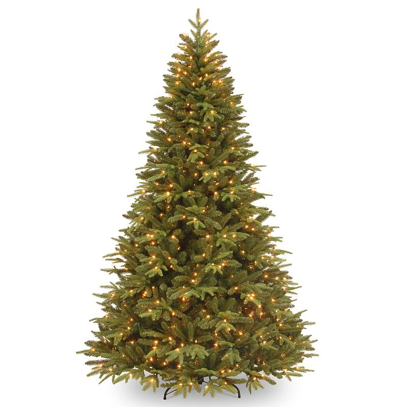 7.5-ft. Pre-Lit ''Feel-Real'' Pomona Pine Artificial Christmas Tree