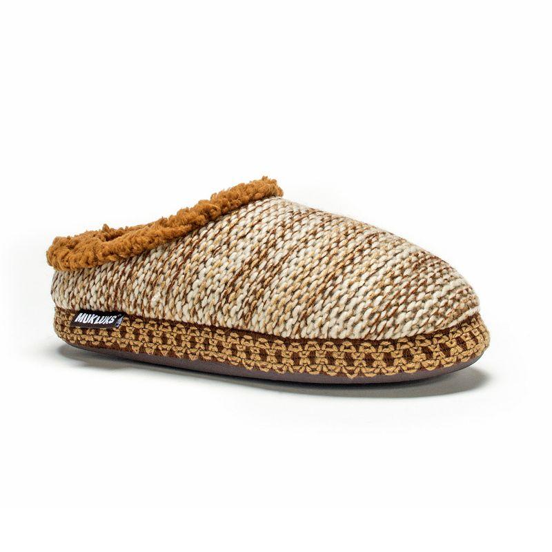 MUK LUKS Women's Lucia Knit Clog Slippers