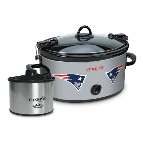 Crock Pot Cook Amp Carry New England Patriots 6 Quart Slow