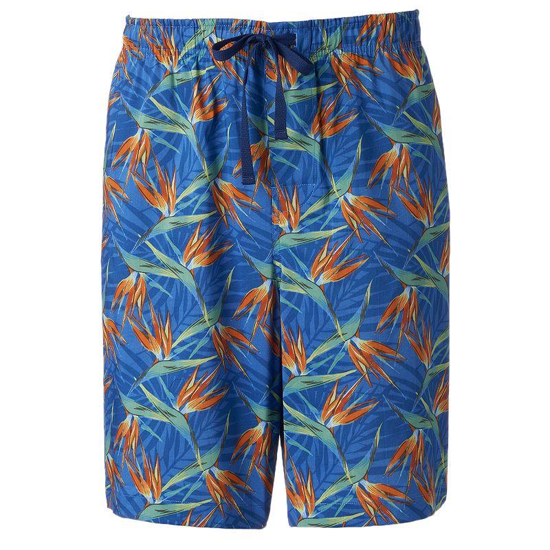 Big & Tall Croft & Barrow® Tropical Stretch Jams Shorts